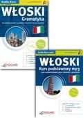 WŁOSKI na mp3 Pakiet Kurs dla poczštkujšcych + Gramatyka
