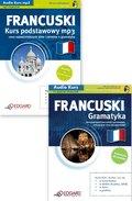 FRANCUSKI na mp3 Pakiet Kurs podstawowy + Gramatyka